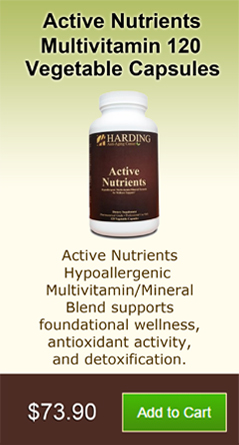 Active Nutrients Multivitamin 120 Vegetable Capsules