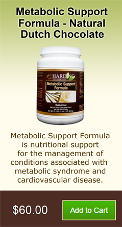 Metabolic Support Formula - Natural Dutch Chocolate
