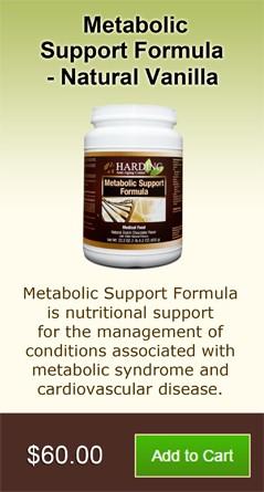 Metabolic Support Formula - Natural Vanilla