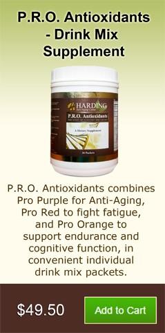 P.R.O. Antioxidants - Drink Mix Supplement